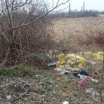 Mess On the photo is waste that I found near Bratislava. In the background landfill.
