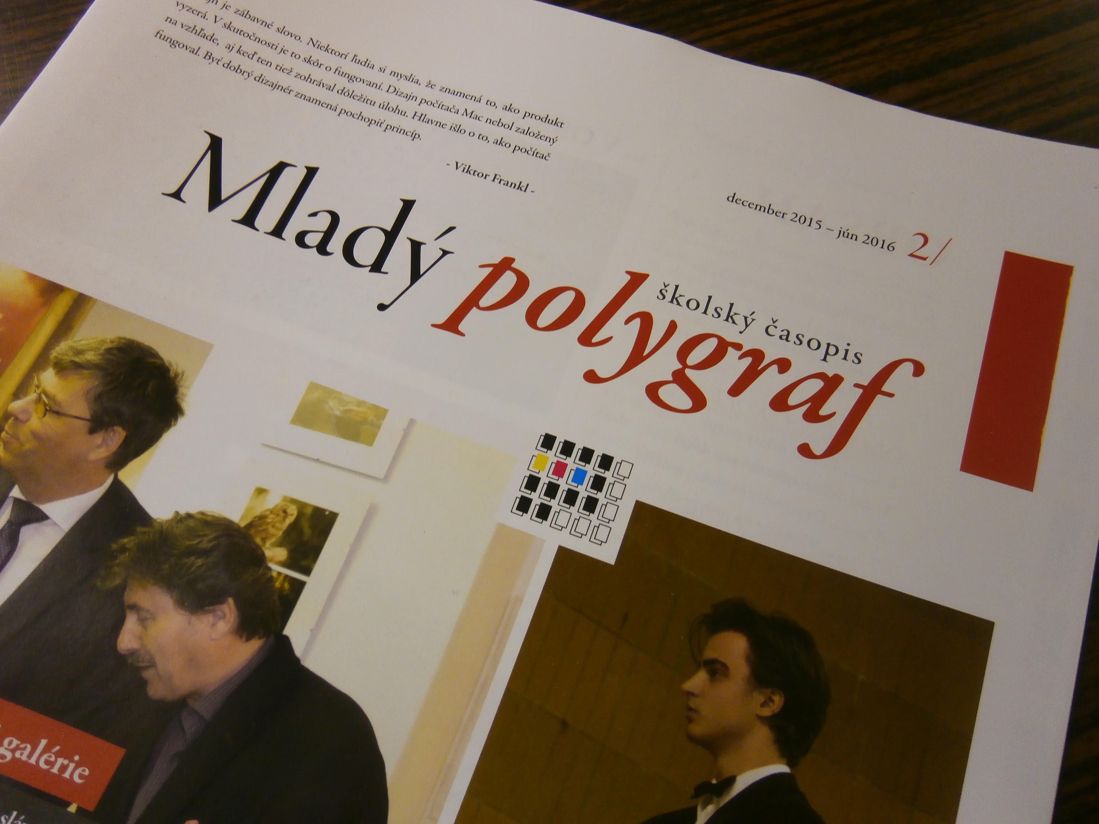 mladý polygraf
