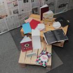 knihárske výrobky žiakov z III.GMB